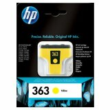 Original Ink Cartridge HP 363 (C8773E) (Yellow) for HP Photosmart C6180
