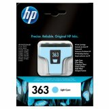 Original Ink Cartridge HP 363 (C8774E) (Light cyan) for HP Photosmart  3313