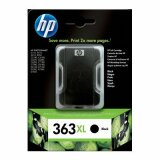 Original Ink Cartridge HP 363 XL (C8719E) (Black) for HP Photosmart C6180