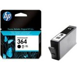 Original Ink Cartridge HP 364 (CB316EE) (Black) for HP Photosmart 5515 B111h