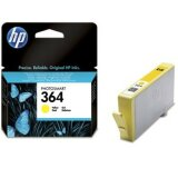 Original Ink Cartridge HP 364 (CB320EE) (Yellow) for HP Photosmart 5515 B111h