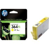 Original Ink Cartridge HP 364 XL (CB325EE) (Yellow) for HP Photosmart 7520