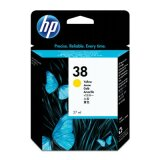 Original Ink Cartridge HP 38 (C9417A) (Yellow) for HP Photosmart Pro B9100 GP