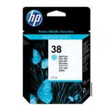 Original Ink Cartridge HP 38 (C9418A) (Light cyan) for HP Photosmart Pro B9100 GP