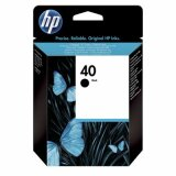 Original Ink Cartridge HP 40 (51640A) (Black) for HP Deskjet 1600 C