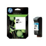 Original Ink Cartridge HP 45 (51645AE) (Black) for HP Photosmart 1215 VM
