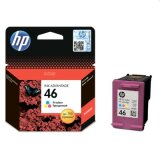 Original Ink Cartridge HP 46 (CZ638AE) (Color)
