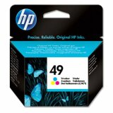 Original Ink Cartridge HP 49 (51649A) (Color) for HP Deskjet 610 C