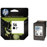 Original Ink Cartridge HP 56 (C6656AE) (Black) for HP Officejet 5500