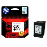 Original Ink Cartridge HP 650 (CZ101AE) (Black)
