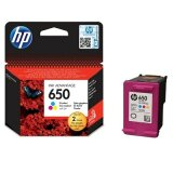 Original Ink Cartridge HP 650 (CZ102AE) (Color) for HP Deskjet Ink Advantage 4000 All-in-One