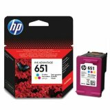 Original Ink Cartridge HP 651 (C2P11AE) (Color)