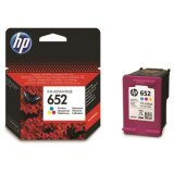 Original Ink Cartridge HP 652 (F6V24AE) (Color) for HP DeskJet Ink Advantage 3830