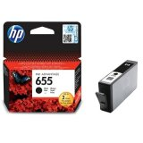 Original Ink Cartridge HP 655 (CZ109AE) (Black) for HP Deskjet Ink Advantage 6500 All-in-One