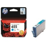 Original Ink Cartridge HP 655 (CZ110AE) (Cyan) for HP Deskjet Ink Advantage 6500 All-in-One