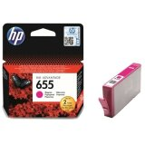 Original Ink Cartridge HP 655 (CZ111AE) (Magenta) for HP Deskjet Ink Advantage 6520 e-All-in-One