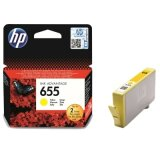 Original Ink Cartridge HP 655 (CZ112AE) (Yellow) for HP Deskjet Ink Advantage 6525 e-All-in-One