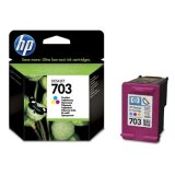 Original Ink Cartridge HP 703 (CD888AE) (Color) for HP Photosmart Ink Advantage K510a
