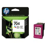 Original Ink Cartridge HP 704 (CN693AE) (Color) for HP Deskjet Ink Advantage 2060 K110a All-in-One