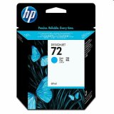 Original Ink Cartridge HP 72 (C9398A) (Cyan) for HP Designjet T1120 ps - CK838A