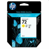 Original Ink Cartridge HP 72 (C9400A) (Yellow) for HP Designjet T1120 ps - CK838A