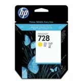 Original Ink Cartridge HP 728 (F9J65A) (Yellow) for HP DesignJet T830