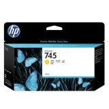 Original Ink Cartridge HP 745 (F9J96A) (Yellow) for HP DesignJet Z5600 PostScript