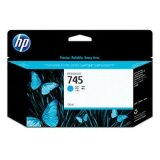 Original Ink Cartridge HP 745 (F9J97A) (Cyan) for HP DesignJet Z5600 PostScript