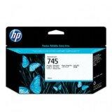 Original Ink Cartridge HP 745 (F9J98A) (Black Photo) for HP DesignJet Z5600 PostScript