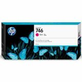 "Original Ink Cartridge HP 746 (P2V78A) (Magenta) for HP DesignJet Z6 24"" PostScript"