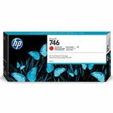"Original Ink Cartridge HP 746 (P2V81A) (Red) for HP DesignJet Z6 24"" PostScript"