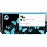 "Original Ink Cartridge HP 746 (P2V82A) (Black Photo) for HP DesignJet Z6 24"" PostScript"