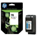 Original Ink Cartridge HP 78 (C6578AE) (Color) for HP Officejet k80