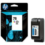 Original Ink Cartridge HP 78 (C6578DE ) (Color) for HP Officejet g55