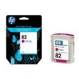 Original Ink Cartridge HP 82 (C4912A) (Magenta) for HP Designjet 815 MFP