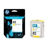 Original Ink Cartridge HP 82 (C4913A) (Yellow) for HP Designjet 815 MFP