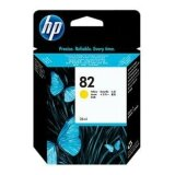 Original Ink Cartridge HP 82 (CH568A) (Yellow) for HP Designjet 500 - C7770B