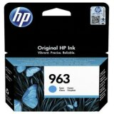 Original Ink Cartridge HP 963 (3JA23AE) (Cyan)