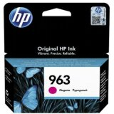Original Ink Cartridge HP 963 (3JA24AE) (Magenta)