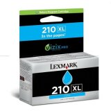 Original Ink Cartridge Lexmark 210XL (14L0175E) (Cyan)