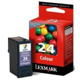 Original Ink Cartridge Lexmark 24 (18C1524E) (Color)