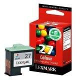 Original Ink Cartridge Lexmark 27 (10NX227E) (Color)