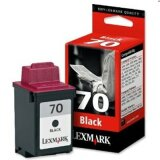 Original Ink Cartridge Lexmark 70 (12AX970E) (Black) for Samsung SF 4500