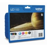 Original Ink Cartridges Brother LC-1100 CMYK (LC1100VALBP) for Brother MFC-5890 CN