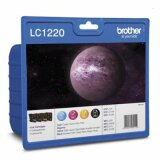 Original Ink Cartridges Brother LC-1220 CMYK (LC-1220VALBP) for Brother MFC-J835 DW