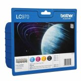 Original Ink Cartridges Brother LC-970 CMYK (LC970VALBP) for Brother DCP-235 C