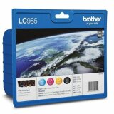 Original Ink Cartridges Brother LC-985 CMYK (LC985VALBP) (multi pack) for Brother DCP-J125