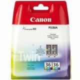 Original Ink Cartridges Canon CLI-36 (1511B018) (Color) (2-pack)