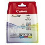 Original Ink Cartridges Canon CLI-521 CMY (2934B010)