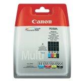 Original Ink Cartridges Canon CLI-551 CMYK (6509B008) (4xpack)